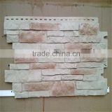 Cheap Stacked Stone Siding wall panel plastic faux stone wall panel