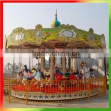 2014 cheap mechanical carousel horse ride,amusement park rides merry go round, cheap carousel for sale