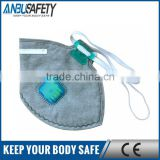 carbon air filter safety nose dust mask for construction industry