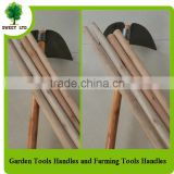 manufacture gardening tools wood handle for pickaxe shovel leaf rake