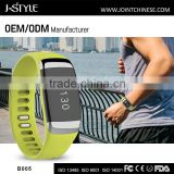 Newest Bluetooth wrist device with vibration alarm for message and call
