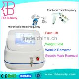 best home use portable fractional RF non surgical face lift procedures facial peeling machine