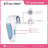 Home use facial and body skin dry cleaning spin brush