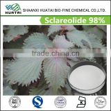 china supply natural fragrance sclareolide 98% powder free sample for trial