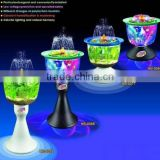 magic water fountain fish tank