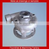sand casting cast iron CNC automatic turning machined pump casing in mechanical parts&fabrication services
