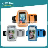 Toprank Waterproof Elastic Sport Running Armband Case Workout Armband Holder Pouch For Mobile Phone Arm Bag Band