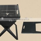 RH-302 outdoor Portable Notebook Grill BBQ foldable oven charcoal bbq grill