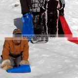 Roll Up Snow Carpet Sledge -Turbo sheet Thrower Ride Fun Winter Outdoor Plastic Rider slipped knee sled