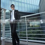 Hot Selling New Design China Beaded Black Coat Pant Suits Of Men Photo