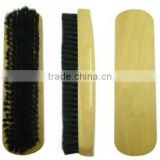 Long horse hair shoe polishing brush