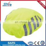 High quality Reflective tape waterproof backpack rain cover