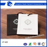Custom cheap Clothing Tags / Hang Tag / Garment Hangtag supplier