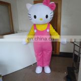 Hello kitty promotion cartoon mascot costume for supermarket