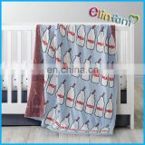 Elinfant children Knitted milk Blanket Baby Cotton Throw Blanket Quilt Infant Couverture Blanket Bedding
