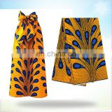 African block printed wax wax fabric for garment