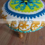 SUZANI EMBROIDERY STOOL