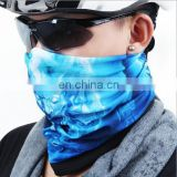 Custom head scarf multifunctional Microfiber seamless mask bandana