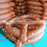 2016 hot selling Giant inflatable pretzel pool float
