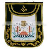 M. M. Emblems Masonic Apron