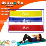 "12"" X 2"" Set of 3 Loop Resistance Bands (Light, Medium, Heavy),100% Premium Natural Latex Workout Bands Fitness Equipment"