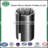 Wedge Wire and Weave Wire Screens metal filter element