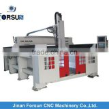 CE supply plywood manufacturing machinery/polyurethane foam cutting machine/foam cutting cnc router machinery