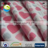 China wholesale hot sale in Indonesia market polyester printed minky /velboa fabric for toy, slipper, home textile