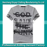 Printed T Shirt Made by Advanced T Shirt Printing Machine Wholesale Clothing Manufacturer with Competitive Price