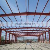 steel framed structure ceiling used in the factory