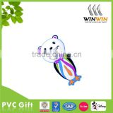 Animal shaped new design popular customized pvc/silicone water bottle opener in various designs