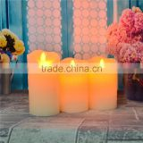 Copper candle jar with led wick for home decoration citronella candle, wholesale citronella candle/