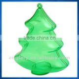 Transparent Plastic Christmas Tree,Clear fillable Ornament