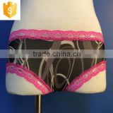 Sexy full open hot sale sex products sex transparent material ladies underwear in apparels
