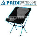 Folding Fishing Chair Yellow Red Blue Cheap Outdoor Adult Folding Half Moon Chair