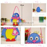 Various styles cute beautiful sewing printed babies 3D cartoon hand bag