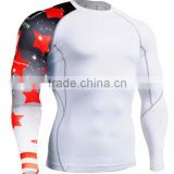 Mens tesla compression wear fabric