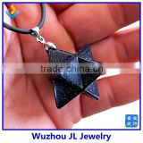 Wholesale Merkaba pendants&Quartz Crystal Merkaba merkaba point pendant Pendant for Unisex