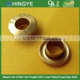 2015 New Style Folded Rim Metal Eyelets For Clothes --- A035