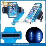 (Wholesale) LED Sport Armband for iPhone 6, led armband for Samsung Galaxy S3/S4, led armband for running