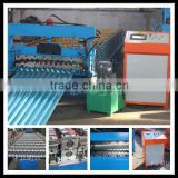 Customized Corrugate Roof Roll Forming Machine with PLC Automatic Control Cabinet