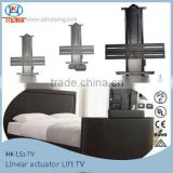 Electric automatic TV lift systems Bed TV lift for home bed,hotel bed