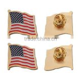 high quality souvenir dia struck usa metal country flag pin