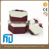 Large round creative paper packaging cardboard gift box