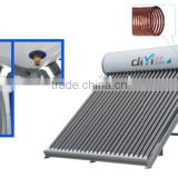 Compact Copper Coil Heat Exchang Pre Heat Pressure Solar Energy Water Heater