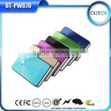 8000mah lithium polymer power bank metal cover wholesale