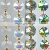 2013 wholesale beautiful crystal glass bead chain for house and wedding decorative from jewelry manufacturer China