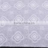 2014 white fashion plain cotton lace fabric/Cotton Embroidery Lace Fabric for garments                                                                         Quality Choice