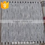 Italian white carrara natural split marble mosaic tile