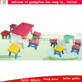 Plastic cheap high quality mating table and chair for room school daycare